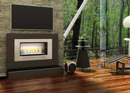 classic fireplace installed